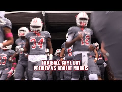 Football Game Day Preview at Robert Morris
