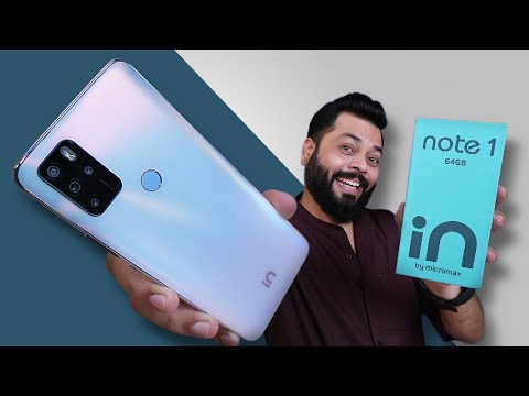 Micromax IN Note 1 Unboxing And First Impressions ⚡ Has Micromax Made a Come Back?