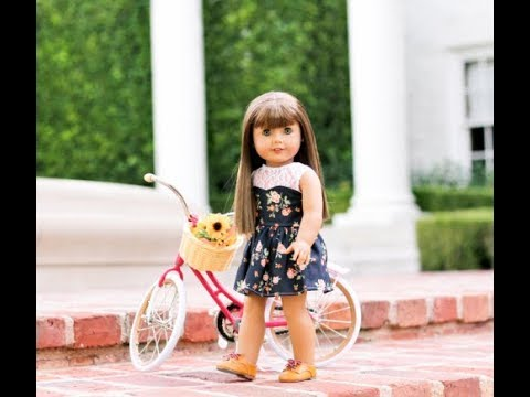 How To Sew Sweetheart Dress For American Girl Dolls