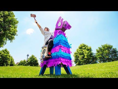 Giant Fortnite Loot Llama Piñata (in Real Life)