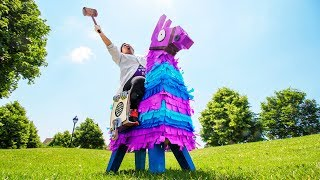 Giant Fortnite Loot Calls Piñata (in Real Life)