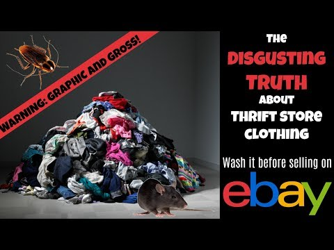 Disgusting Truth About Thrift Store Clothing