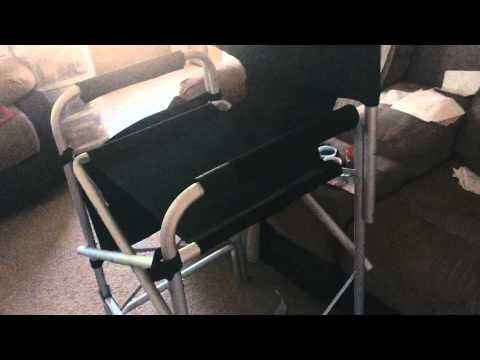 Earth Heavy Duty VIP Director's Chair | MUA Chair