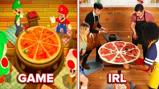 Alvin Tries To Recreate The Mario Party Pizza Video Game In Real Life •Tasty
