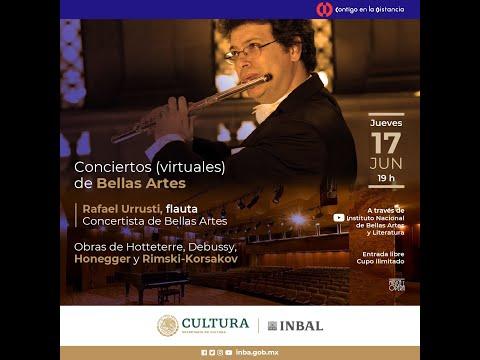 Conciertos (virtuales) de Bellas Artes / Rafael Urrusti