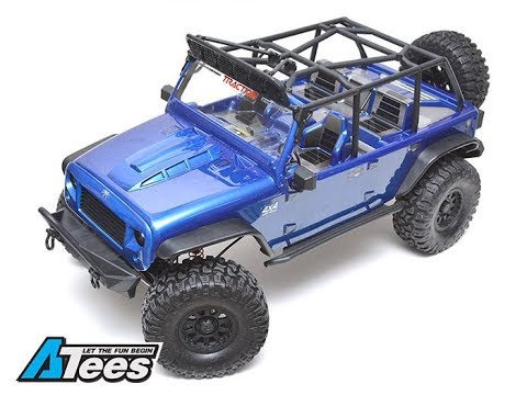 Unboxing the New Traction Hobby 1/8 Cragsman Crawler