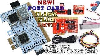 новая пост карта для современных мат. плат TL460s Plus AMTL