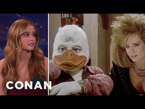 Zoey Deutch Watched Her Mom Have Sex With Howard The Duck   CONAN on TBS
