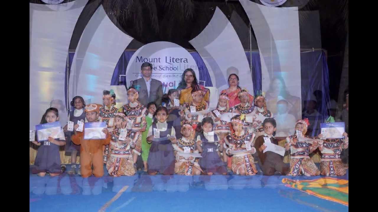Mount Litera Zee School North Bangalore Annual Day 2012 13 Youtube