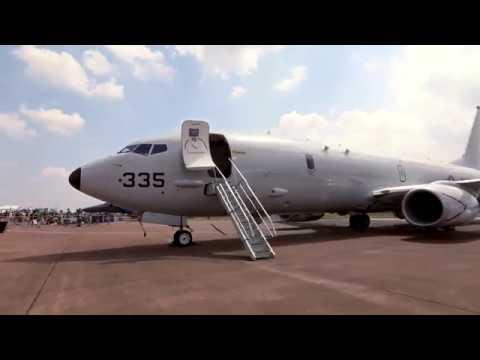 Sqn Ldr Tuff talks about P-8A Poseidon Maritime patrol