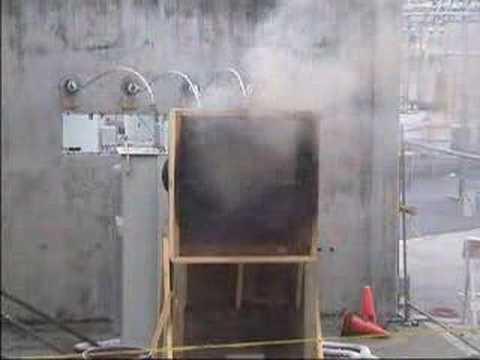 480 volt 3-phase Arc Flash Demonstration