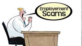 The Little Black Book of Scams: Job and Employment Scams