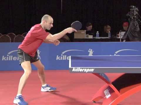 How to Backhand Counterhit | Killerspin Table Tennis