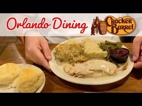 Eating At... Cracker Barrel, Orlando - Brit Review