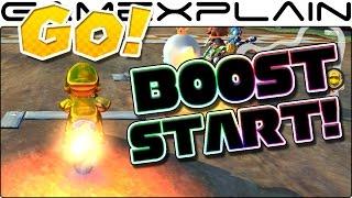 Mario Kart 8 Deluxe - How to Get the BEST Rocket Boost Start! (Tip Guide)
