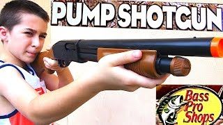 Bass Pro Shops Toy Pump Shotgun for Kids with Robert-Andre!