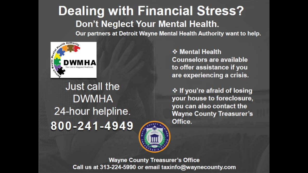 Detroit Wayne Mental Health Authority Public Service Announcement