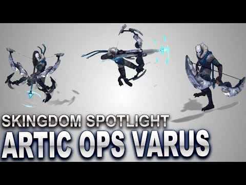 Arctic Ops Varus Skin Spotlight | SKingdom - League of Legends
