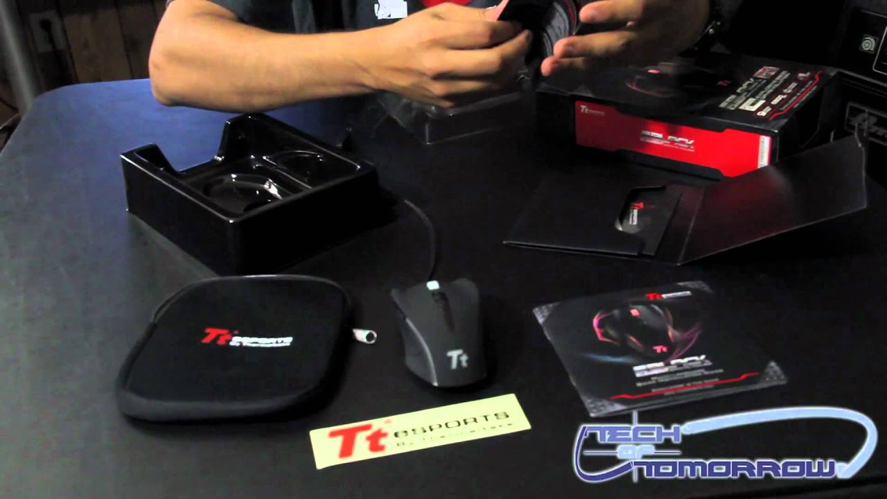 561d11167f0 Thermaltake Tt eSPORTS Black Element Gaming Mouse Unboxing - YouTube