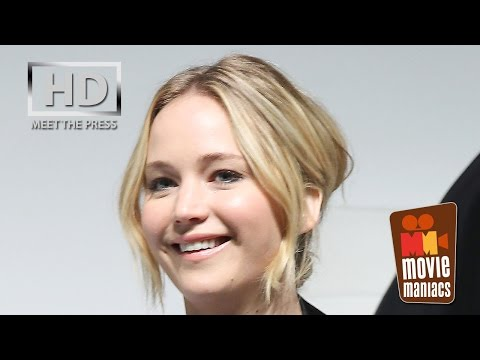 The Hunger Games MockingJay Part 1 | full Press Conference New York (2014) Jennifer Lawrence