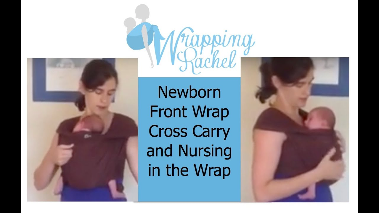How To Do Front Wrap Cross Carry Fwcc And Nurse A Newborn In A Stretchy Wrap Moby Boba