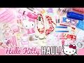 HUGE HELLO KITTY HAUL!! ♥  | RealAsianBeauty