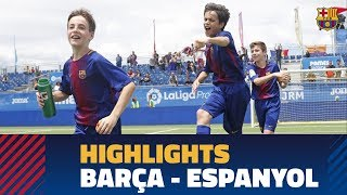[HIGHLIGHTS] FINAL LALIGA PROMISES: FC Barcelona – RCD Espanyol