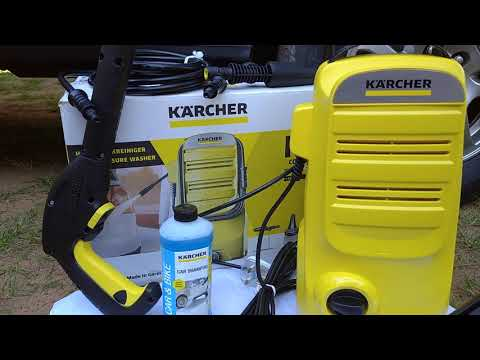 Karcher K2 High Pressure Washer Unboxing & Review