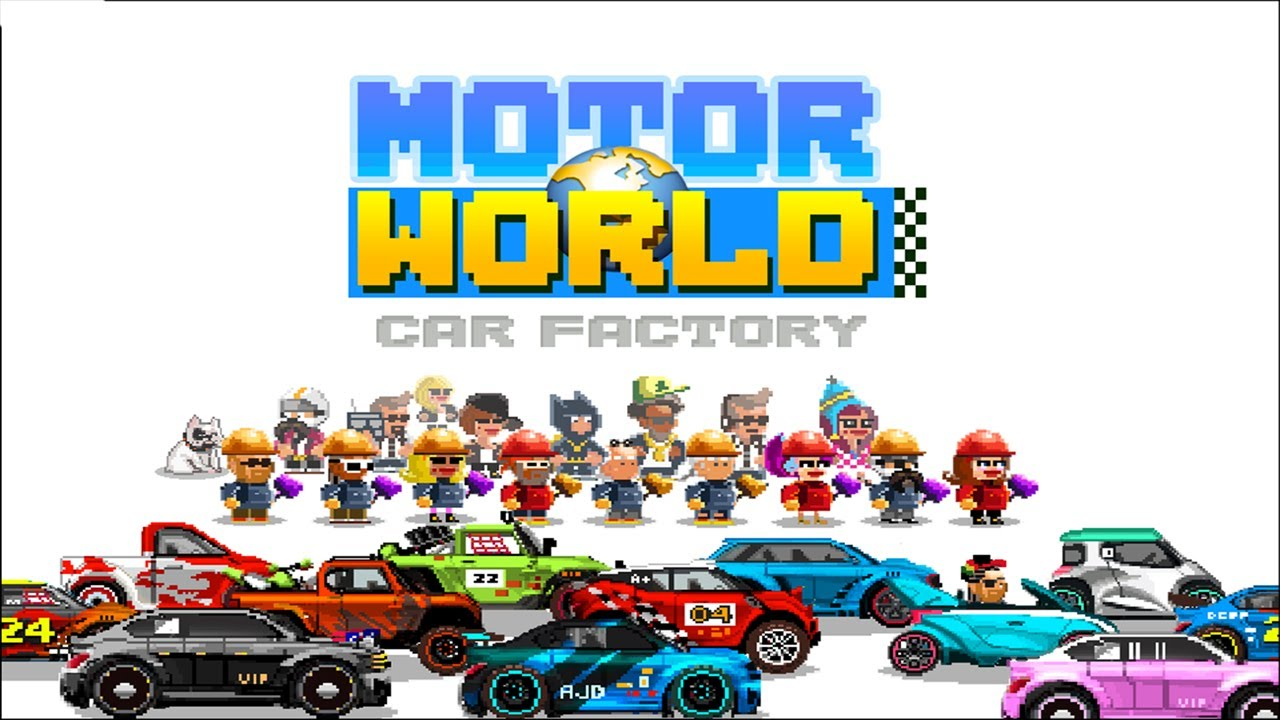 Motor World Car Factory Iphone Ipod Touch Ipad Hd