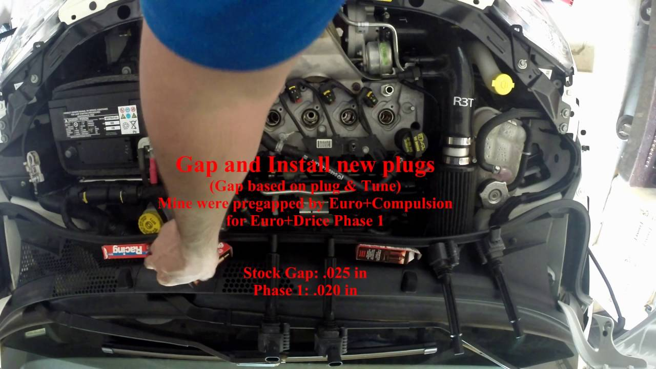 Fiat 500 spark plug replacement