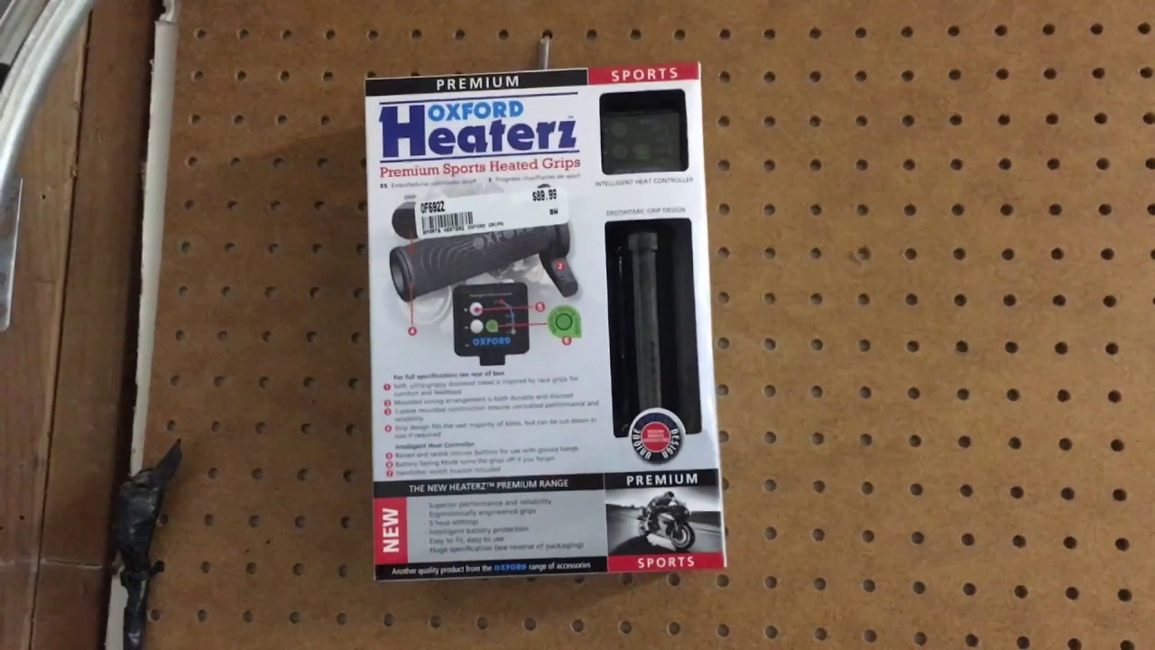 hight resolution of oxford heaterz heated grips installation