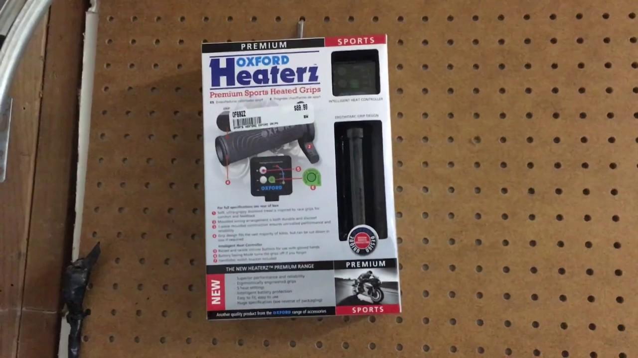 medium resolution of oxford heaterz heated grips installation