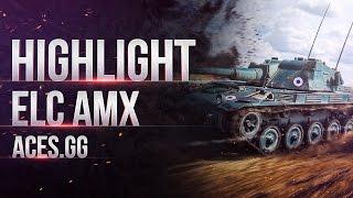 AMX ELC bis  и работа маскировки в World of tanks