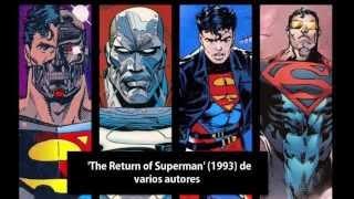 ¿Qué comics inspiraron a la historia de Man of Steel (2013)?