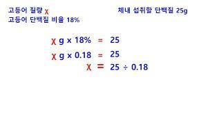 제과ㆍ제빵기능사 문제풀이#11(식품 단백질 섭취 비율 …