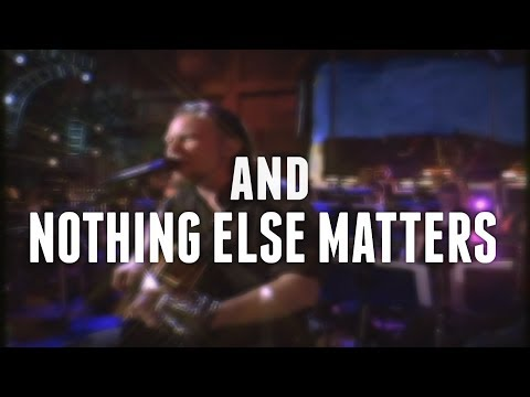 Metallica - Nothing Else Matters (Lyrics)