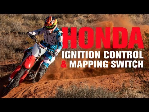 How To Use The Honda CRF Launch Control And Mapping Switch