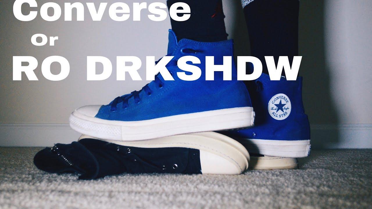 bf8da9021300 SneakerTalk  Converse hay Rick Owen     - YouTube