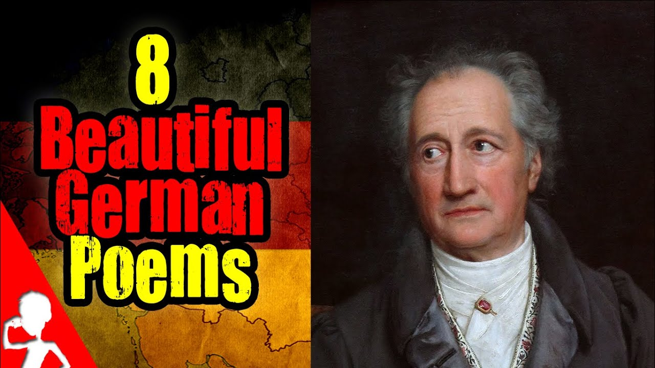 8 Beautiful German Poems | Get Germanized - YouTube