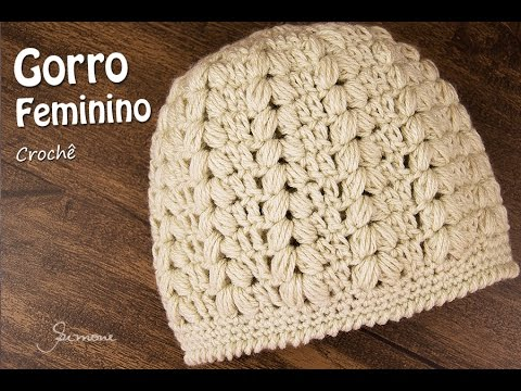 384b213d1512b Gorro Feminino de Crochê