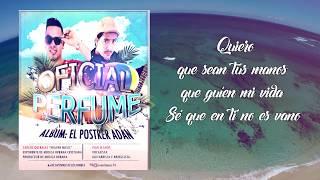 EL PERFUME   IVAN LLANOS GEDEONES GD1SFeat CARLOS QUERALES HEAVEN MUSIC ALBUM POSTRER ADÁN