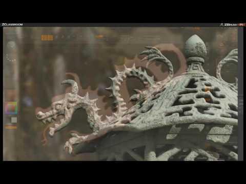 CGI 3D Tutorials : Zbrush Environments With Seth Thompson Part 5
