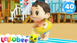 Learn to Swim Song + More Nursery Rhymes & Kids Songs - Little Baby Bum | ABCs and 123s