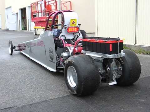 Repeat DSS Electric Junior Dragster - Initial testing with