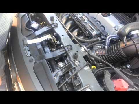 Under the hood of a 2012 Honda CR-V
