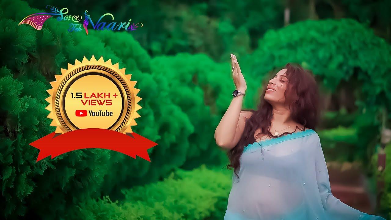 Download Saree Lover 2021 | FT. Bong Beauty Monalisa in Blue Saree | Saree Fashion | Saree Teh Naari