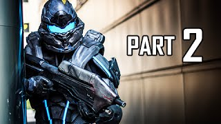 Halo 5 Guardians Walkthrough Part 2 - Frontier (Gameplay Let's Play Commentary)