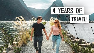 4 Years of ENDLESS TRAVEL! - The Endless Adventure Travel Montage