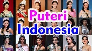 Foto Para Pemenang Puteri Indonesia 1992 2016
