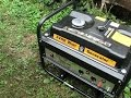 Camping Generator Running an RV Air Conditioner
